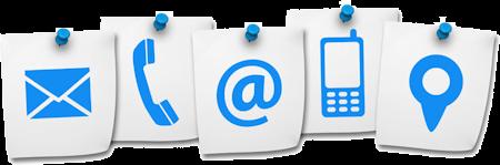 Contactgegevens en formulier Webstudio4u
